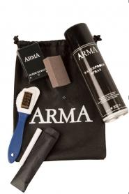 Arma | Suède lammy coat Aurille | zwart  | Afbeelding 6