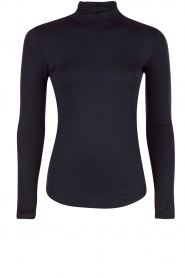 Turtleneck top Blondie | blauw