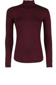 Rosemunde | Turtleneck top Blondie | paars  | Afbeelding 1