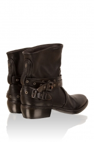 Leather boots Roger | black