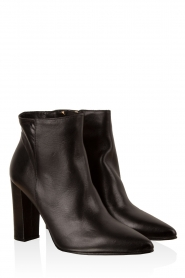 Leather ankle boots Norva | black