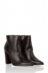 Leather ankle boots Norva | dark blue