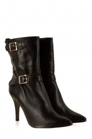 Noe | Leren laarzen Nicole | zwart  | Afbeelding 3