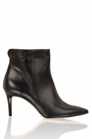 Leather ankle boots Noty | dark blue