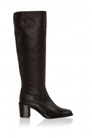 Noe | Leren laarzen Noty | zwart  | Afbeelding 1