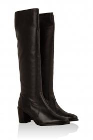 Noe | Leren laarzen Noty | zwart  | Afbeelding 3