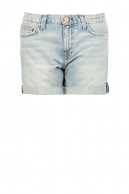 Denim short The Slouchy Cut Off | blauw