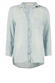 Bella Dahl | Denim blouse Mel | blauw  | Afbeelding 1