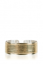 Close to Zen | 22kt vergulden armband Wild Heart | goud  | Afbeelding 1
