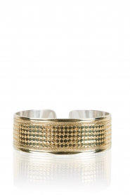 Close to Zen | 22kt vergulden armband Wild Heart | goud  | Afbeelding 2