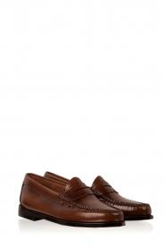 G.H. Bass & Co. | Leren loafers Weejun Penny | bruin  | Afbeelding 3