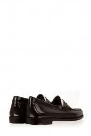 G.H. Bass & Co. | Leren loafers Weejun Penny | zwart  | Afbeelding 4