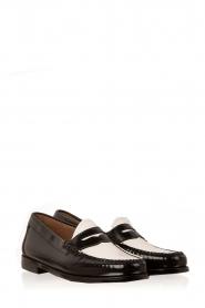 G.H. Bass & Co. | Leren loafers Weejun Penny | zwart  | Afbeelding 3