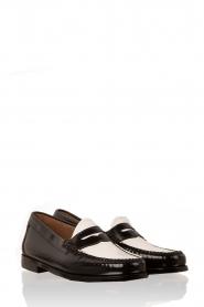 Leren loafers Weejun Penny | zwart