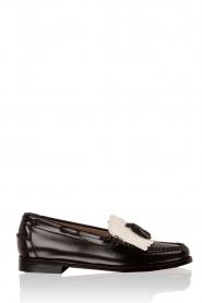 G.H. Bass & Co. | Leren loafers Weejun Esther | zwart  | Afbeelding 1