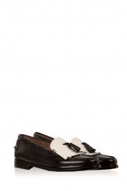 G.H. Bass & Co. | Leren loafers Weejun Esther | zwart  | Afbeelding 3