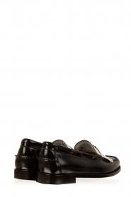 G.H. Bass & Co. | Leren loafers Weejun Esther | zwart  | Afbeelding 4