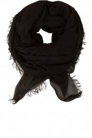 American Vintage | Sjaal Bloomington | zwart  | Afbeelding 1