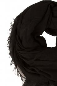 American Vintage | Sjaal Bloomington | zwart  | Afbeelding 3