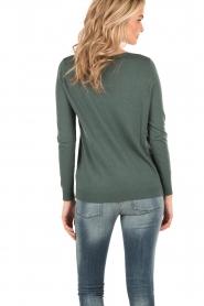 American Vintage | Fijngebreide trui Bloss | groen  | Afbeelding 5