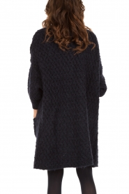 Knitted cardigan Bubiforest | dark blue