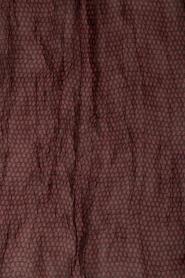 American Vintage | Sjaal Caldwell | zwart/rood  | Afbeelding 4