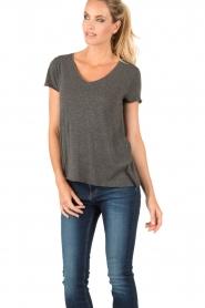 American Vintage | T-shirt Jacksonville | grijs  | Afbeelding 2