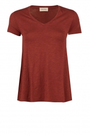 American Vintage | T-shirt Jacksonville | bordeaux  | Afbeelding 1