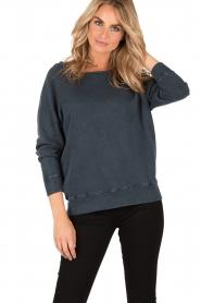 American Vintage | Sweater Jaguar | blauw  | Afbeelding 2