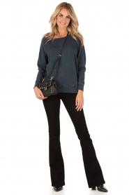 American Vintage | Sweater Jaguar | blauw  | Afbeelding 3