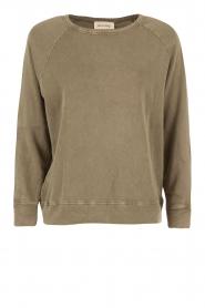 American Vintage | Sweater Jaguar | groen  | Afbeelding 1
