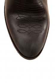 Leather ankle boots Olsen Vesuvio | black