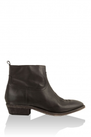 Leather ankle boots Olsen Vesuvio | black
