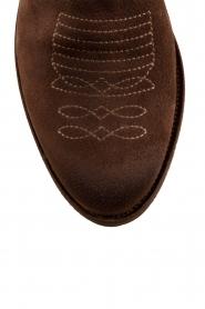 Suede ankle boots Olsen Vesuvio | brown