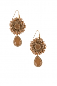 Earrings Crochet | nude