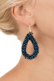 Earrings Midnight Drops | blue
