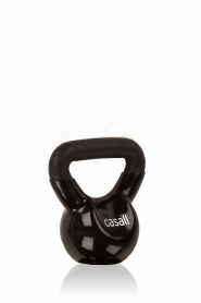 Casall | Kettlebell Vinyl 4 kg | zwart  | Afbeelding 1