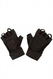 Casall | Leren Fitness Handschoenen HLS | zwart  | Afbeelding 3