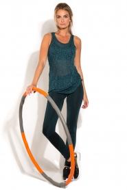 Casall | Fitness Hoelahoep 1,5 kg | oranje  | Afbeelding 2