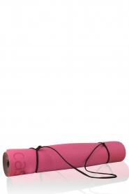 Yoga mat Position   pink