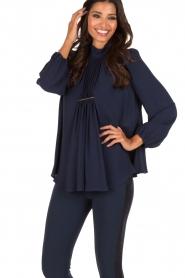 ELISABETTA FRANCHI | Blouse Camicia | Blauw  | Afbeelding 4