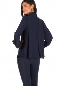 ELISABETTA FRANCHI | Blouse Camicia | Blauw  | Afbeelding 5