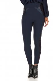 ELISABETTA FRANCHI | High waist legging Celino | donkerblauw  | Afbeelding 2