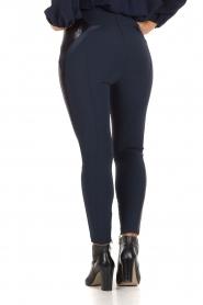ELISABETTA FRANCHI | High waist legging Celino | donkerblauw  | Afbeelding 5