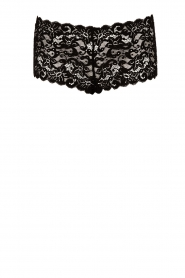 Lace hipster moments | black