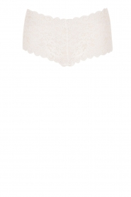 Lace hipster Moments | white