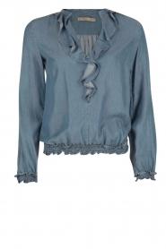 Patrizia Pepe | Blouse Camicia | blauw  | Afbeelding 1