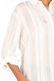 Patrizia Pepe | Blouse Celia | wit  | Afbeelding 6