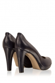 Noe |  Leather pumps Nabla | dark blue  | Picture 5