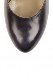 Leather pumps Nabla | dark blue